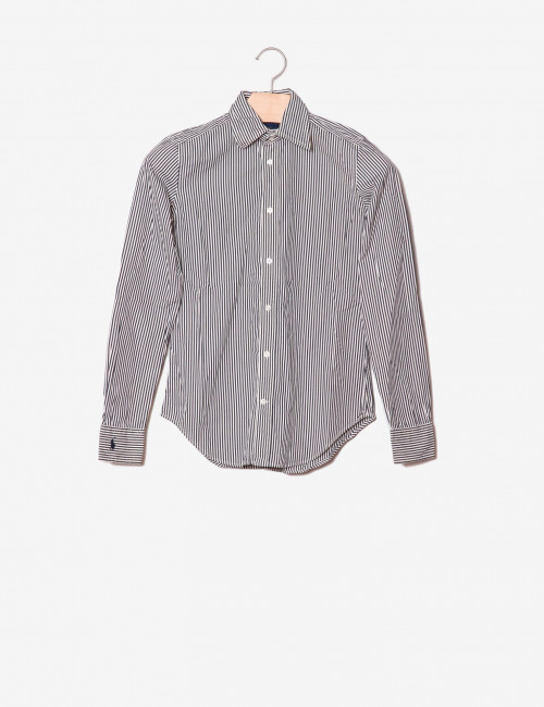 Camicia Slim Fit a righe-Ralph Lauren-frontale.jpg