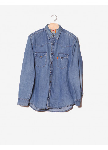 Camicia casual in denim-Levi's-frontale.jpg