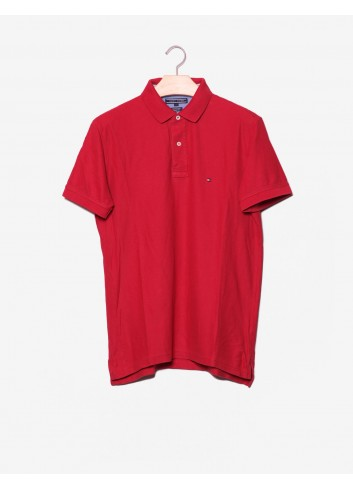 Polo Regular Fit con logo-Tommy Hilfiger-frontale.jpg
