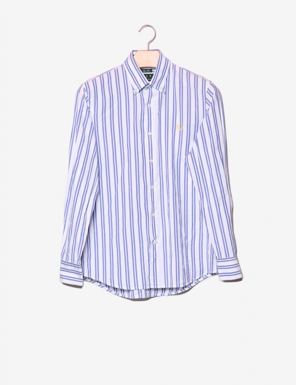 Camicia a righe Slim Fit-Fred Perry-frontale.jpg