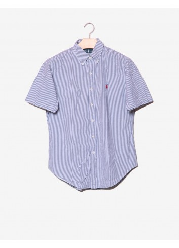 Camicia a righe Classic Fit -Ralph Lauren-frontale.jpg