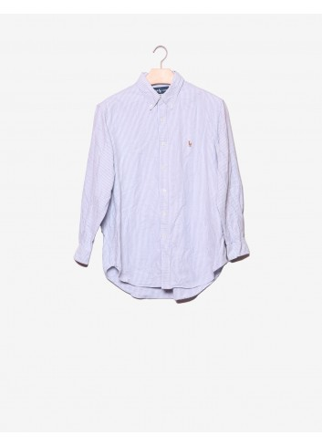Camicia a righe classic fit-Ralph Lauren-frontale.jpg